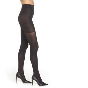 SPANX 'Luxe' Leg Shaping Tights Opaque NWT